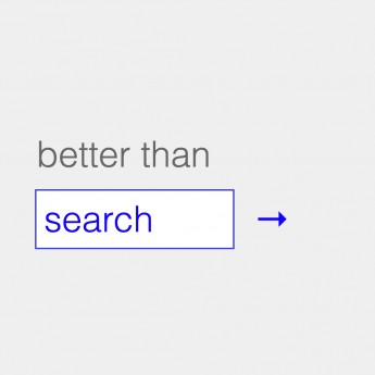 Thumbnail for Better Than Search / Website
